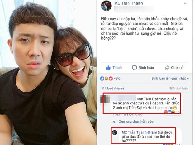 3 lần Trấn Thành xù lông trước sóng gió mạng xã hội: Toàn để bảo vệ Hari Won, đặc biệt một lần làm cực căng vì bị oan - Ảnh 9.