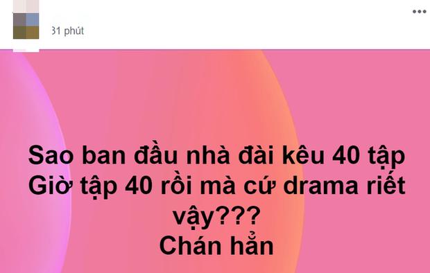 Lên sóng 40 tập nhưng vẫn chưa định kết thúc, Những Ngày Không Quên khiến netizen la ó vì quá ngán drama - Ảnh 3.