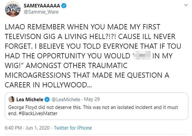 Mỹ nhân Glee bất ngờ bị cáo buộc phân biệt chủng tộc thậm tệ bởi chính bạn diễn cũ: Thái độ và hành động khiếm nhã sau 6 năm mới bị bóc trần? - Ảnh 1.