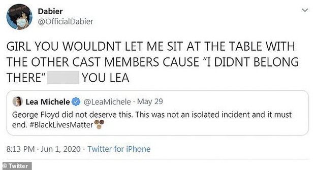 Mỹ nhân Glee bất ngờ bị cáo buộc phân biệt chủng tộc thậm tệ bởi chính bạn diễn cũ: Thái độ và hành động khiếm nhã sau 6 năm mới bị bóc trần? - Ảnh 3.