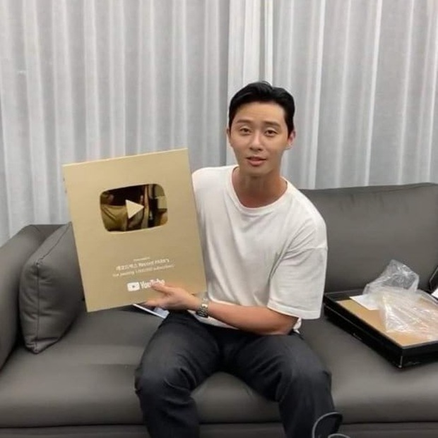 Park Seo Joon was the first Korean actor have a YouTube Gold Play Button