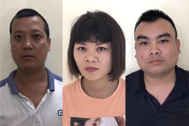 Tạm giữ 3 đối tượng bắt người phụ nữ ép viết giấy nợ gần 300 triệu đồng - Ảnh 1.