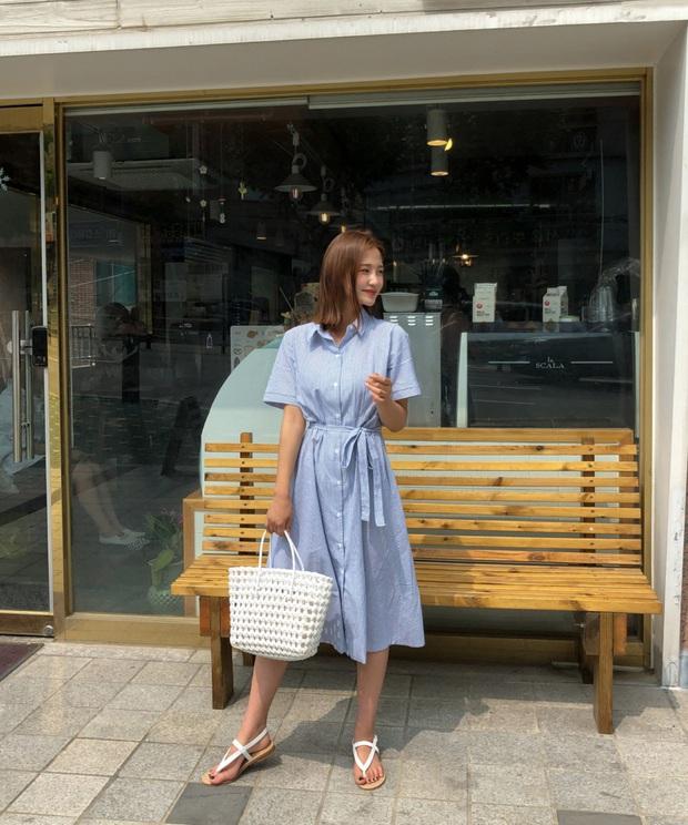 Nắng nóng kinh hoàng, nàng công sở muốn diện váy cho mát thì hãy ưu tiên 5 kiểu thanh lịch và xinh tươi hết ý sau - Ảnh 2.