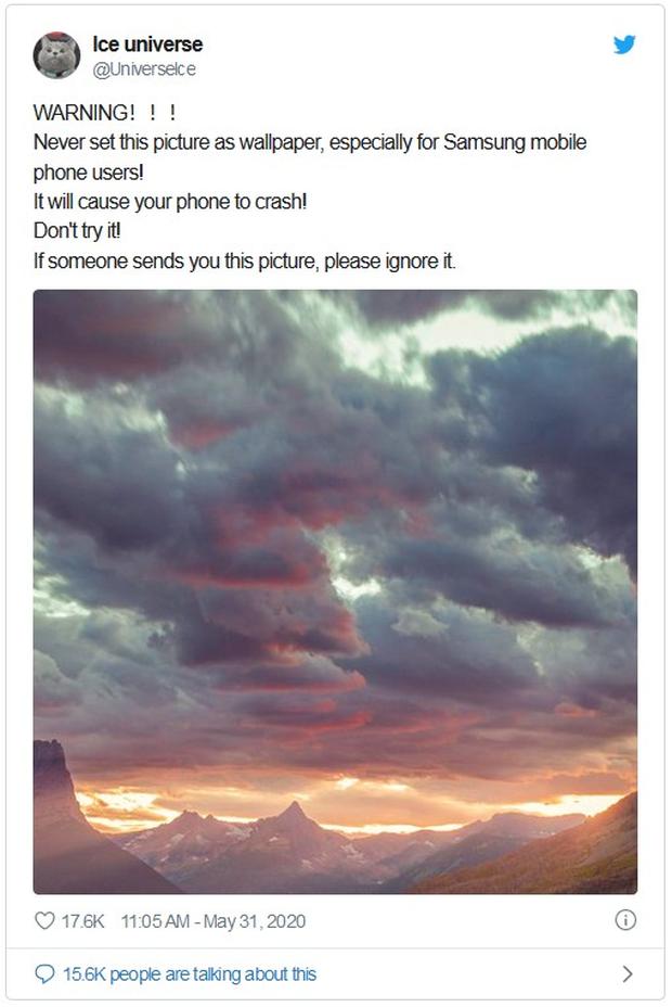 Tại sao chỉ một hình ảnh nền lại có thể biến chiếc smartphone Android thành cục gạch? - Ảnh 1.