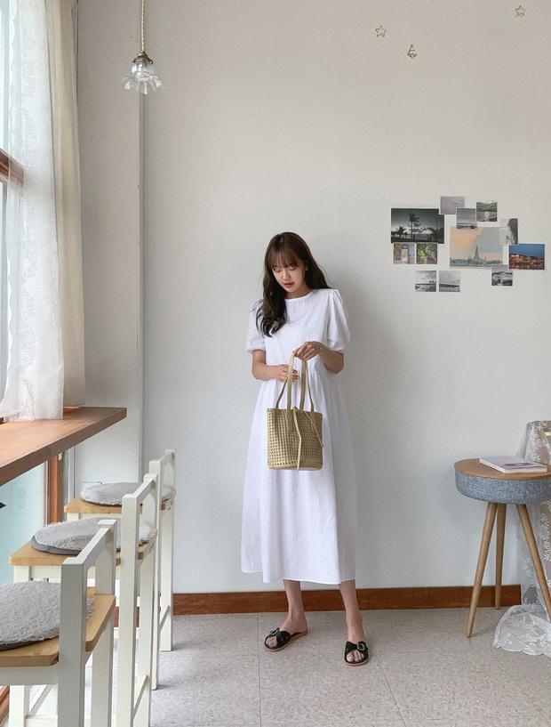 Nắng nóng kinh hoàng, nàng công sở muốn diện váy cho mát thì hãy ưu tiên 5 kiểu thanh lịch và xinh tươi hết ý sau - Ảnh 14.