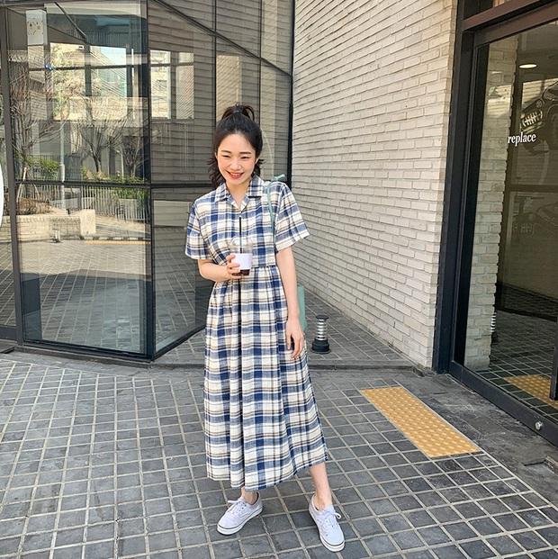Nắng nóng kinh hoàng, nàng công sở muốn diện váy cho mát thì hãy ưu tiên 5 kiểu thanh lịch và xinh tươi hết ý sau - Ảnh 16.
