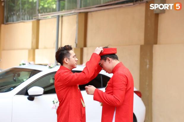 Xịn như Gấu, tậu luôn dàn tuyển thủ xuất sắc nhất lịch sử Liên Quân Mobile Việt Nam làm đội bê tráp cho đám cưới khiến fan phát cuồng - Ảnh 4.