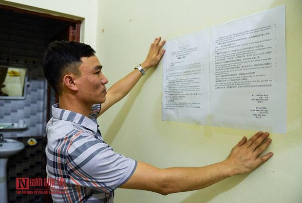 Phun khử khuẩn khu cách ly thương nhân Trung Quốc sang Lục Ngạn thu mua vải thiều - Ảnh 8.