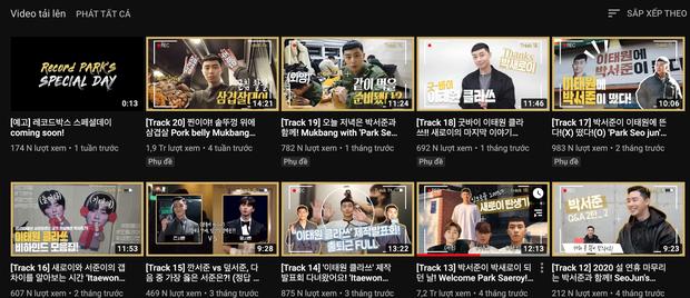 Hậu sức nóng huỷ diệt của Tầng Lớp Itaewon, Park Seo Joon là diễn viên Hàn đầu tiên ẵm nút vàng Youtube - Ảnh 5.