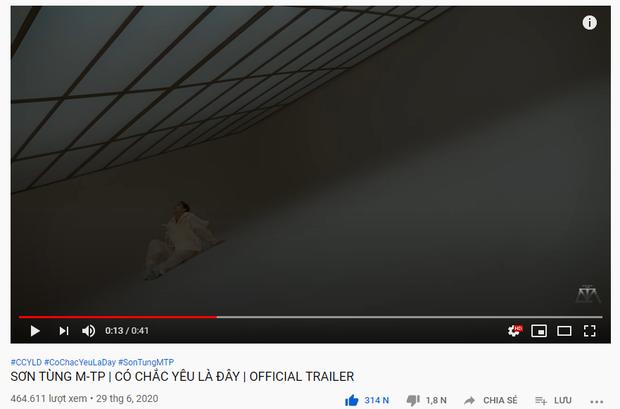Sơn Tùng M-TP phi thẳng #2 trending đe doạ BLACKPINK và loạt thành tích đạt được sau 11 tiếng ra trailer MV mới - Ảnh 4.