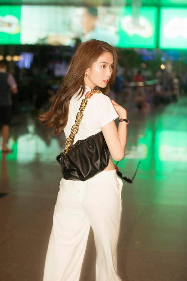 Bất chấp đụng túi hot trend với Song Hye Kyo, Ngọc Trinh vẫn hút mắt quá chừng khi lên đồ trendy khoe body thần thánh - Ảnh 5.