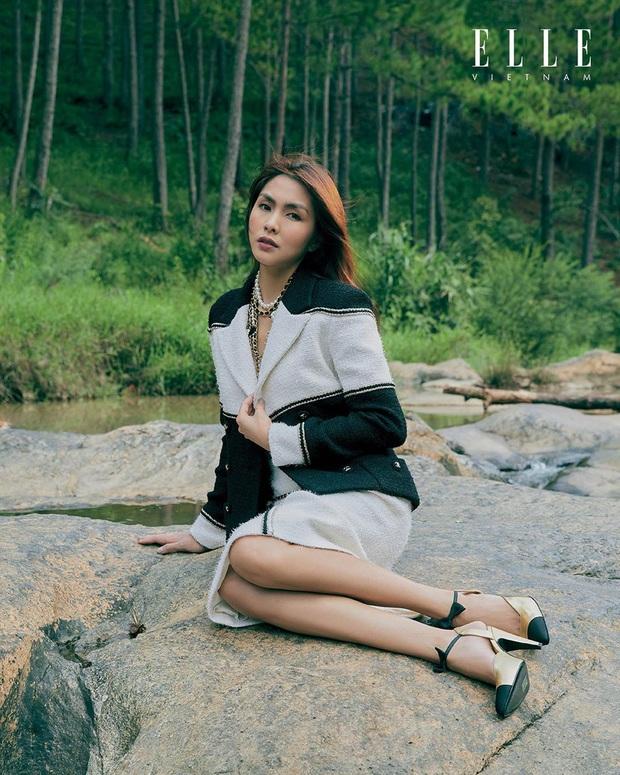 Tiên Nguyễn trầm trồ trước nhan sắc của chị dâu Hà Tăng trong loạt ảnh tạp chí: Visual đỉnh cao thế này, không khen thì phí quá! - Ảnh 6.