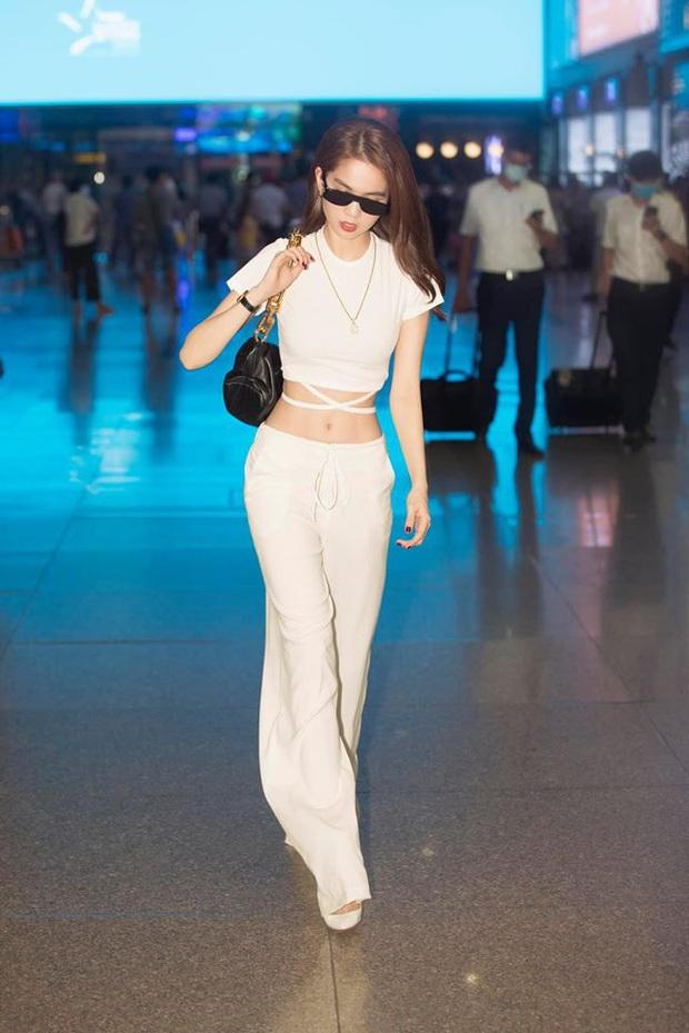 Bất chấp đụng túi hot trend với Song Hye Kyo, Ngọc Trinh vẫn hút mắt quá chừng khi lên đồ trendy khoe body thần thánh - Ảnh 3.