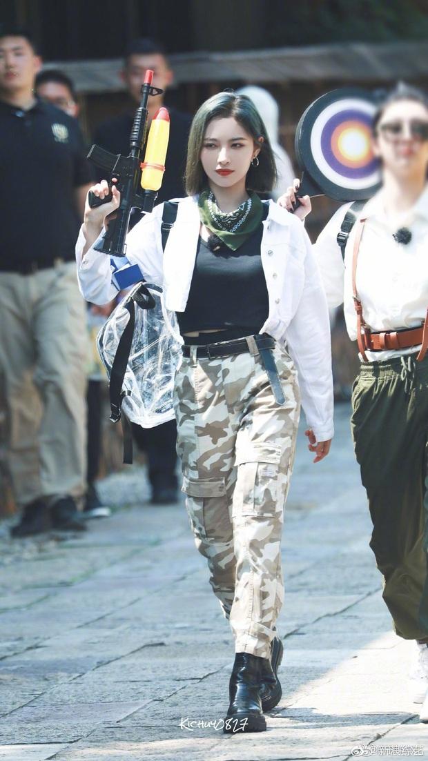 Quân đoàn THE9 rầm rập quay show: Sốc visual vì công chúa Khổng Tuyết Nhi, Ngu Thư Hân - Triệu Tiểu Đường cute xỉu - Ảnh 20.