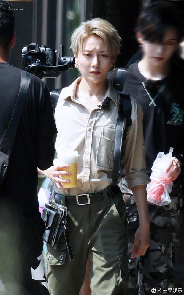 Quân đoàn THE9 rầm rập quay show: Sốc visual vì công chúa Khổng Tuyết Nhi, Ngu Thư Hân - Triệu Tiểu Đường cute xỉu - Ảnh 13.