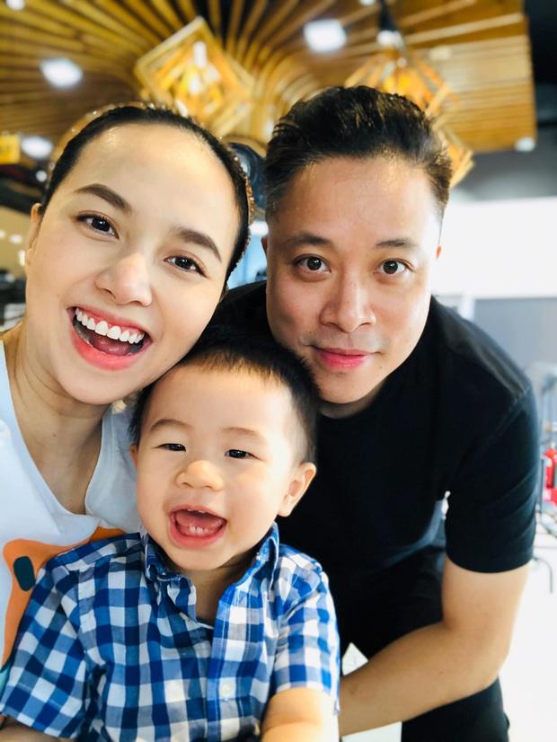 HOT: Đinh Ngọc Diệp mang thai con trai thứ 2 cho Victor Vũ, gần lúc lâm bồn mới công khai chính thức - Ảnh 3.