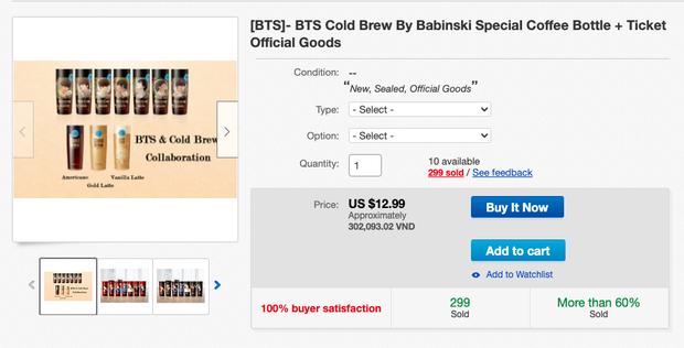 """Giờ mới biết có hẳn bình cafe """"cộp mác"""" các thành viên BTS được bán trên toàn cầu, hàng xách tay tại Việt Nam có giá siêu rẻ - Ảnh 7."""
