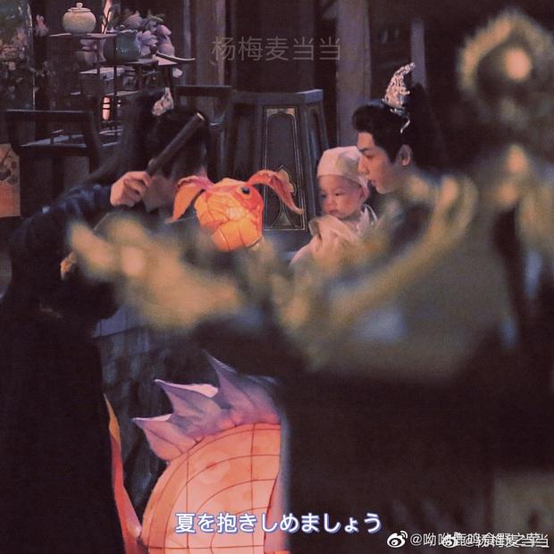 La Vân Hi và Trần Phi Vũ siêu tình tứ tại loạt ảnh ba ngọn nến lung linh ở hậu trường phim đam mỹ  - Ảnh 4.