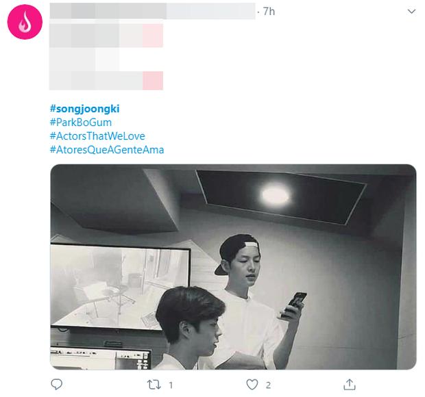Rầm rộ hình ảnh Park Bo Gum tái ngộ Song Joong Ki giữa nghi vấn ngoại tình và ly hôn 2000 tỷ, thực hư ra sao? - Ảnh 3.