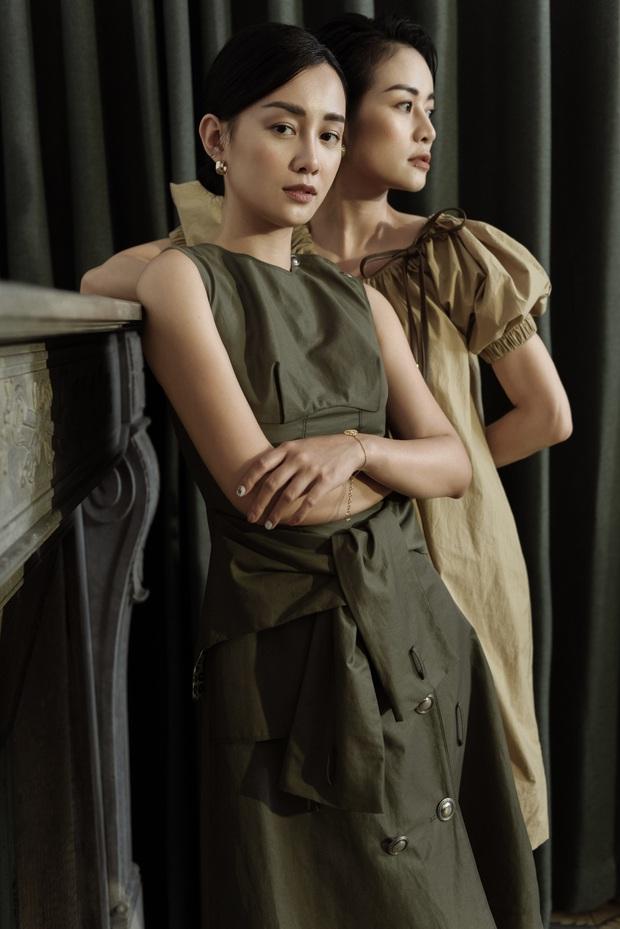 MC Phí Linh - Quỳnh Chi tự tin đầy thần thái trong bộ ảnh mới, mẹ 1 con quyết không kém cạnh nàng độc thân - Ảnh 2.