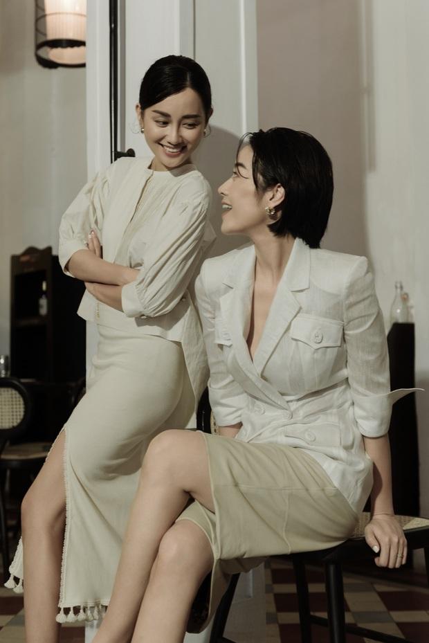 MC Phí Linh - Quỳnh Chi tự tin đầy thần thái trong bộ ảnh mới, mẹ 1 con quyết không kém cạnh nàng độc thân - Ảnh 7.