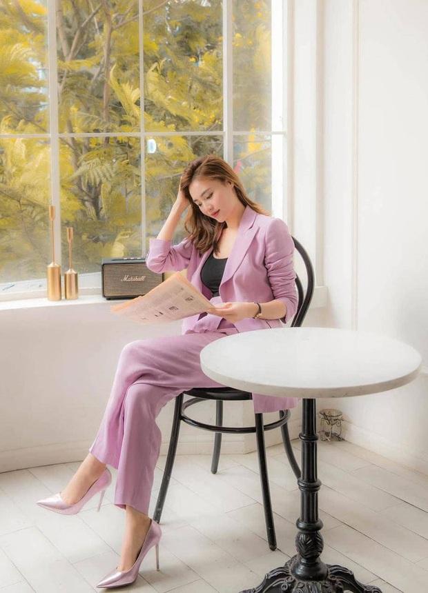 Sao Việt khi diện suit tím hot trend: Người đẹp tinh tế, người sến sẩm; nàng công sở xem cũng rút được khối kinh nghiệm - Ảnh 2.