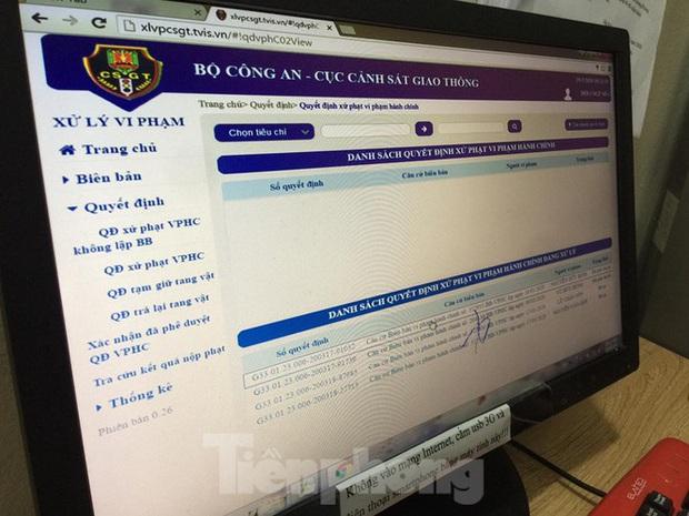 Hàng nghìn lượt vi phạm, chỉ một người nộp phạt qua mạng ở Hà Nội - Ảnh 2.