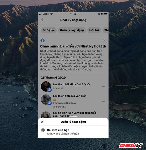 Với nâng cấp mới này, thao tác xóa bài viết hàng loạt trên Facebook sẽ trở nên đơn giản hơn - Ảnh 7.