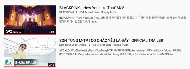 Sơn Tùng M-TP phi thẳng #2 trending đe doạ BLACKPINK và loạt thành tích đạt được sau 11 tiếng ra trailer MV mới - Ảnh 12.