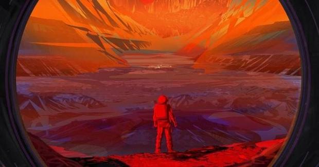 Mãn nhãn với hình ảnh Hoàng hôn cực đẹp khi nhìn từ hành tinh khác, vừa được công bố bởi NASA - Ảnh 1.