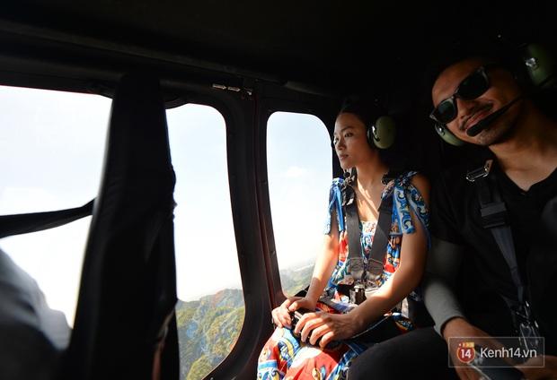 Đi Tràng An bằng máy bay: những vị khách đầu tiên đã được bay thử nghiệm ngắm cố đô trên trực thăng - Ảnh 4.