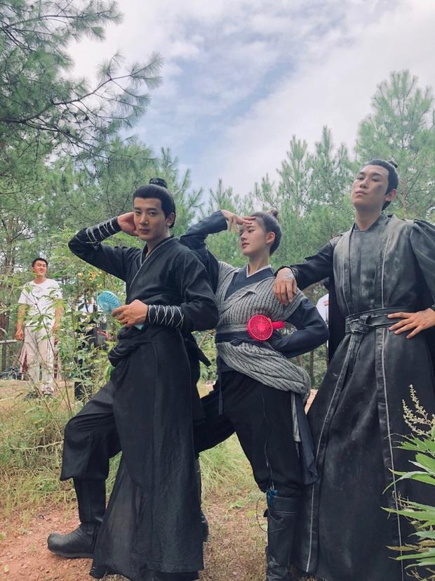 Cười lạc giọng với loạt hậu trường siêu nhây của Trần Thiên Thiên Trong Lời Đồn - Ảnh 4.