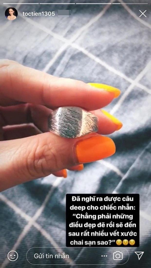 Soi cận nhẫn cầu hôn của sao Vbiz: Toàn đính kim cương siêu to, Tóc Tiên đặc biệt thế nào mà giấu nhẹm chẳng khoe? - Ảnh 3.