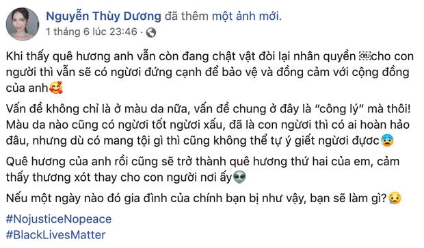 #BlackLivesMatter: Thuý Nga cập nhập tình hình tại Mỹ , MC Nguyễn Cao Kỳ Duyên lên TV vì cửa hàng bị đập phá - Ảnh 3.