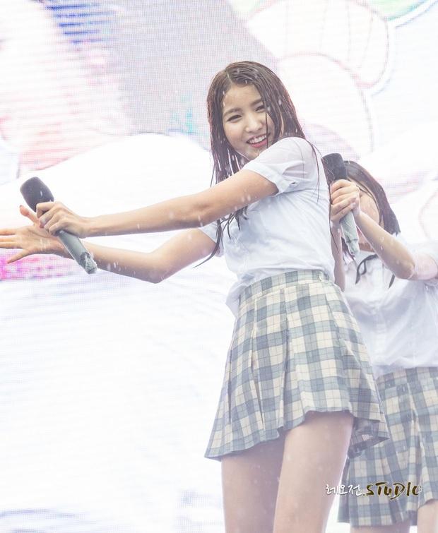 Khi idol Kpop biểu diễn dưới mưa: Người có sân khấu huyền thoại, kẻ thu về một đống meme hài hước được fan tích cực nhai đi nhai lại - Ảnh 12.