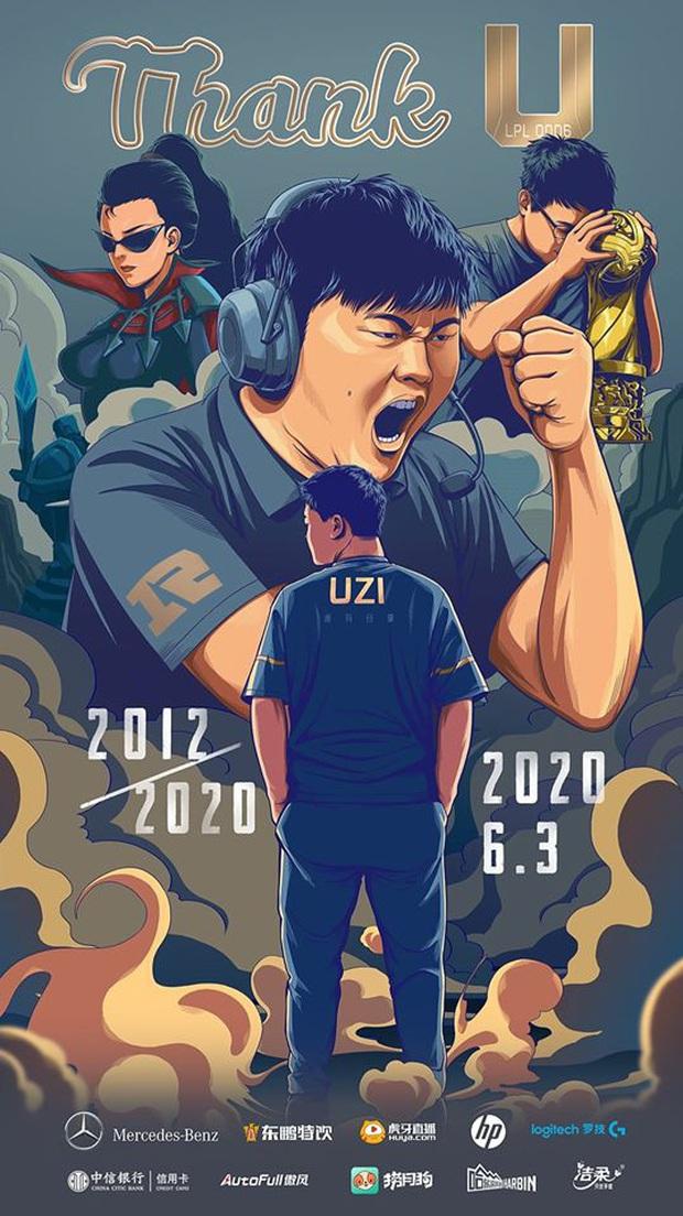 Tạm biệt Uzi - Dấu chấm buồn kết thúc một thế hệ thất bại, nhưng đầy vĩ đại của LPL - Ảnh 1.