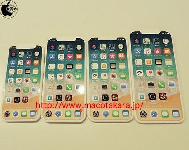 Mô hình iPhone 12 lộ diện thực tế: Chỉ thay đổi tí xíu, có nhiều kích thước khác nhau - Ảnh 1.