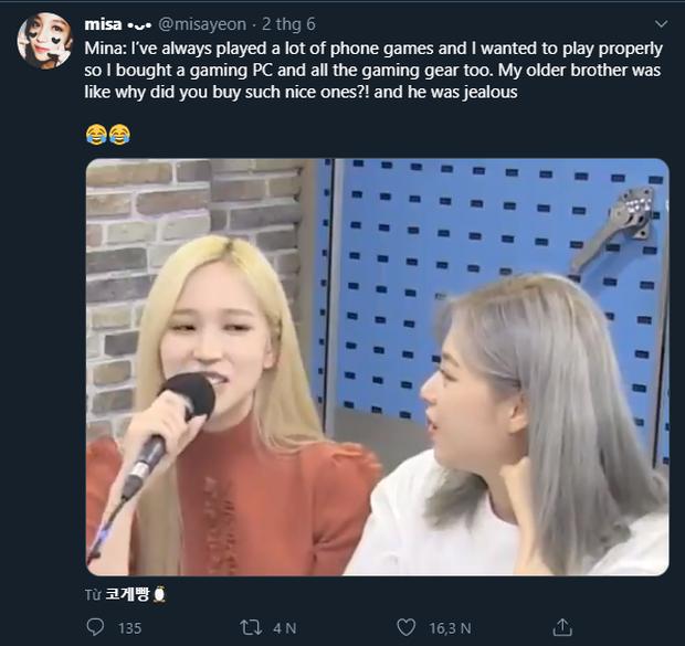 Chịu chơi như nữ idol Mina (Twice), đầu tư hẳn dàn PC cực xịn để rảnh tay thì cày game - Ảnh 2.