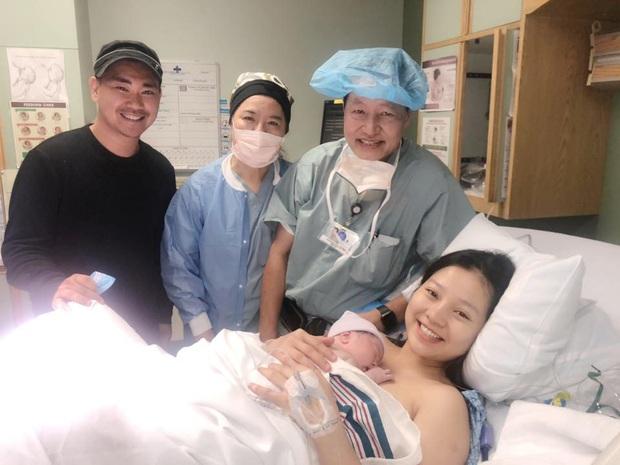 Nữ diễn viên Tôi thấy hoa vàng trên cỏ xanh đã hạ sinh con gái thứ 2 cho ông xã Việt Kiều tại Mỹ - Ảnh 3.