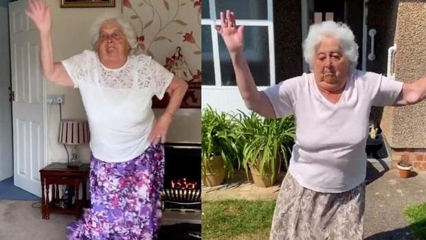 Thể hiện skill chơi bóng thần sầu và nhảy cover siêu đáng yêu, cụ bà 88 tuổi trở thành hiện tượng mạng khiến lớp trẻ cũng phải mê mẩn - Ảnh 4.