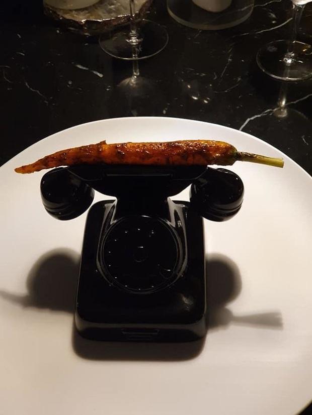 Những pha trang trí món ăn sáng tạo như đấm vào mặt thực khách - Ảnh 6.