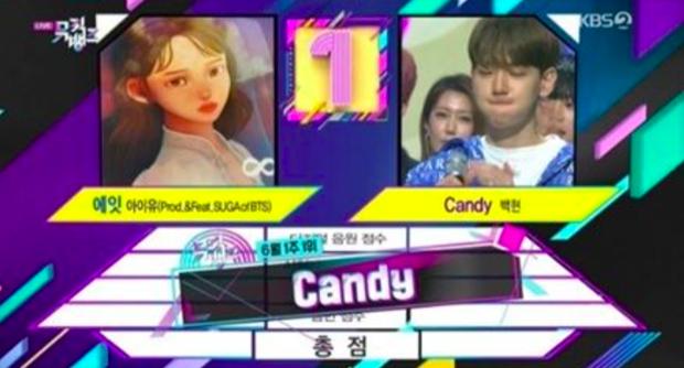 Baekhyun bôi son nhoè quẩy cực sung cùng NCT 127 mừng chiến thắng trước IU, nhưng không bất ngờ bằng sự xuất hiện trên BXH của Red Velvet - Ảnh 2.