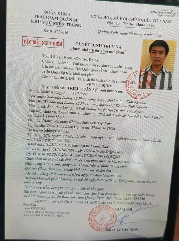 Vụ hàng trăm chiến sĩ truy bắt tên sát nhân tại Đà Nẵng: Hé lộ phương thức 2 lần vượt ngục của kẻ mang 4 tiền án - Ảnh 2.