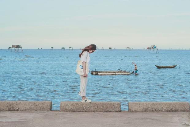 """Thực hư bãi biển được mệnh danh """"Phú Quốc thu nhỏ"""" của miền Bắc: Sao ảnh mạng và ngoài đời khác nhau """"một trời một vực"""" thế nhỉ? - Ảnh 3."""