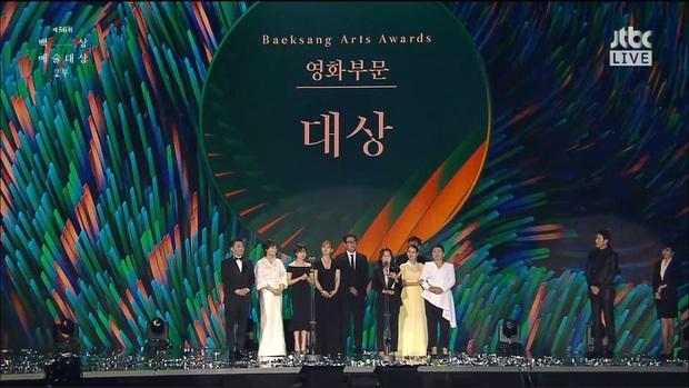Baeksang 2020 hạng mục điện ảnh: Hươu cao cổ Lee Kwang Soo tạo sóng với giải hot, trùm Parasite giật cúp Daesang - Ảnh 1.
