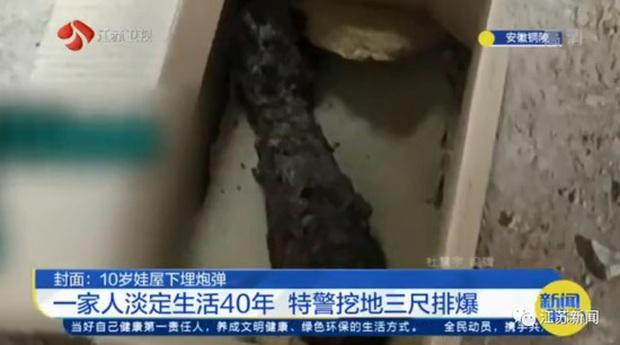 10 tuổi nhặt được cục sắt trong vườn chôn xuống nền nhà, 40 năm sau ông chú hoảng hồn gọi cảnh sát khi biết đó là vật nguy hiểm - Ảnh 3.