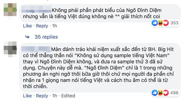 Netizen Việt phản ứng gay gắt sau lời phủ nhận của Big Hit về câu nói tiếng Việt không rõ nguồn gốc trong ca khúc của SUGA (BTS) - Ảnh 5.