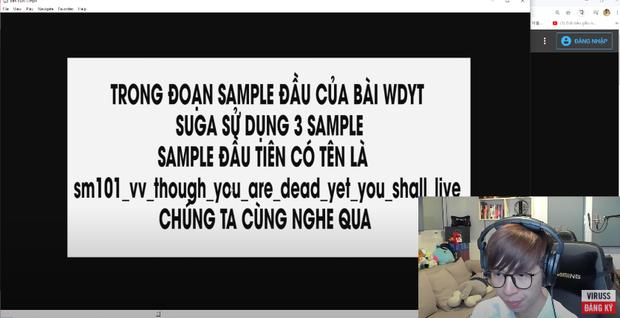 ViruSs đích thân chi tiền mua sample để bóc phốt sự thật ồn ào của SUGA (BTS) - Ảnh 2.