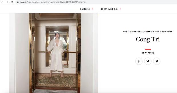 Được thực hiện khi mới có tin vui, bộ ảnh Hà Hồ - Thanh Hằng trong trang phục Công Trí lên hẳn Vogue - Ảnh 2.