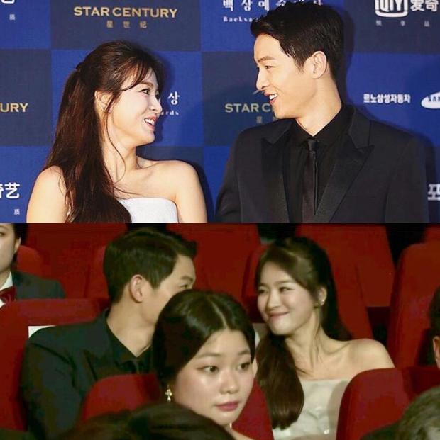 Cameraman tại Baeksang tự soi luôn tá hint của Hyun Bin - Son Ye Jin: Liếc qua liếc lại, sao đáng nghi quá? - Ảnh 11.